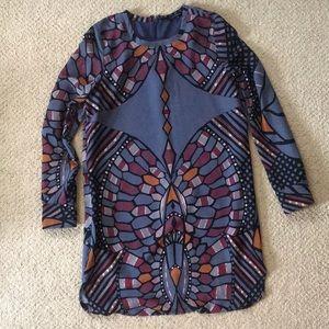 Olivaceous LS dress